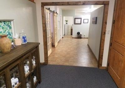 Health Institute of West Co hallway